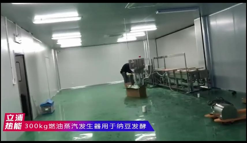 300kg燃油蒸汽发生器用于纳豆发酵1.png